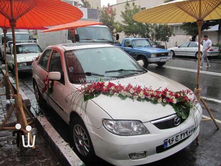 weddingcar talarweb 5 2 - تزئین مدل ماشین های لوکس عروس ایرانی