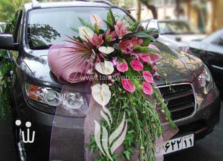 مدل های زیبا از ماشین عروس