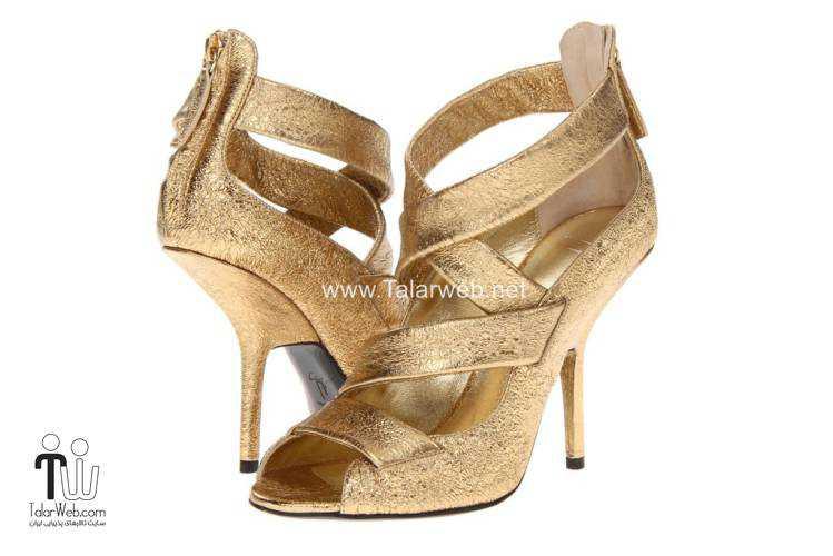 wedding shoes talarweb 1 - مدل های کفش عروس