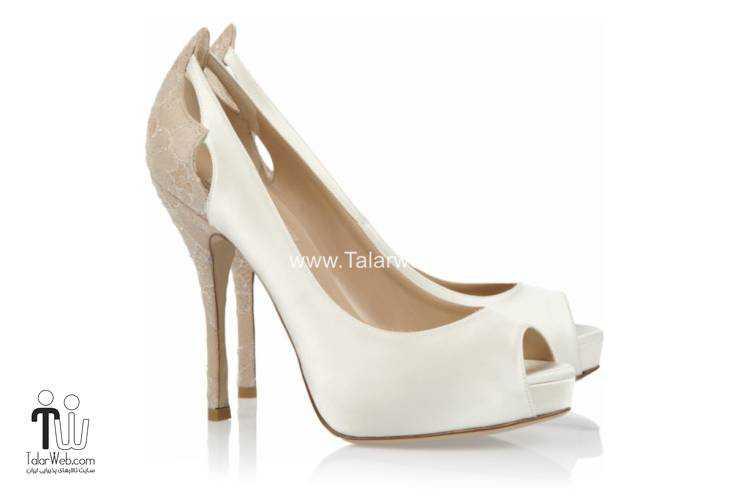 wedding shoes talarweb 5 - مدل های کفش عروس