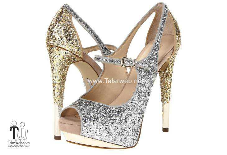 wedding shoes talarweb 7 - مدل های کفش عروس