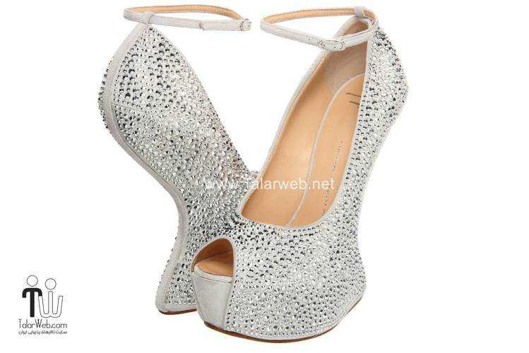 wedding shoes talarweb 9 - مدل های کفش عروس
