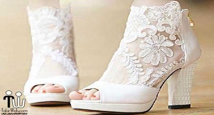انتخاب کفش عروسی مناسب