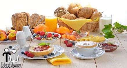 ایده سالم برای اولین صبحانه روز عروسی