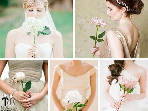 talarweb.net maghale4 1 500x375 - جدیدترین ژست عروس با گلهای طبیعی