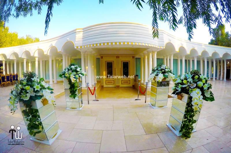 رزرو لحظه آخری باغ تالار قصر