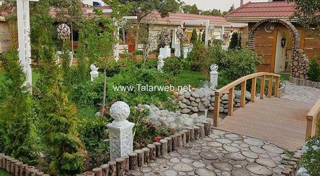 کلیپ باغ تالار گلهای زندگی