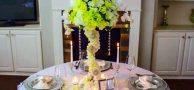 آموزش ساخت گلدان کریستال میز غذاخوری