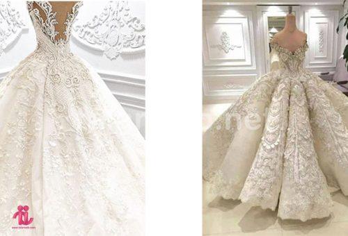 لباس عروس اسکارلت 001 500x340 - لباس عروس ۲۰۱۸