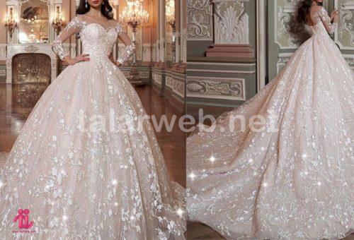 لباس عروس اسکارلت 2018 001 500x340 - لباس عروس ۲۰۱۸