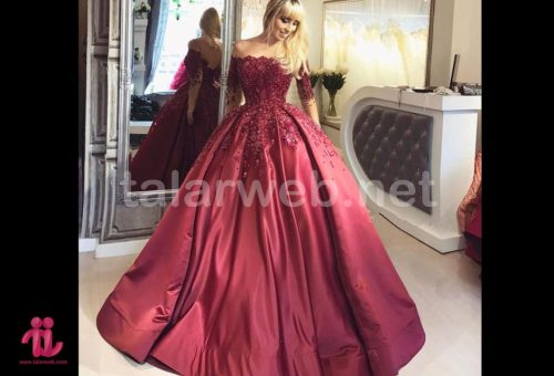 2018 burgundy ball gown quinceanera dresses 001 500x340 - جدیدترین های نامزدی