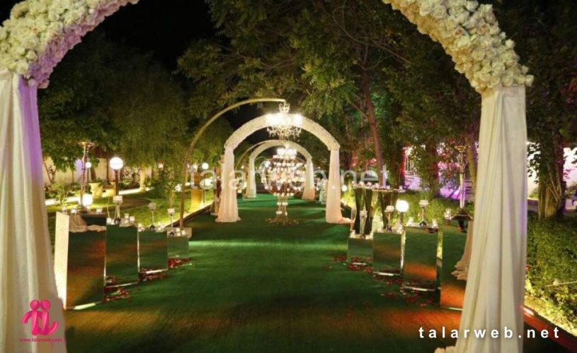تالار آریانا - لیست بهترین باغ تالارهای تهران
