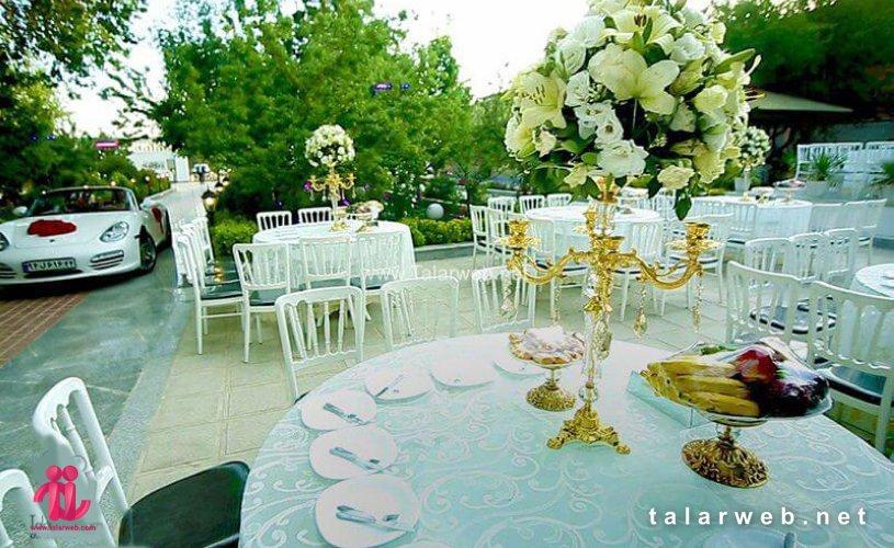 تالار تک درخت - لیست بهترین باغ تالارهای تهران
