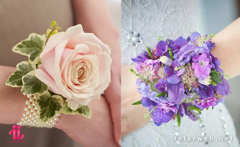 حلقهای یا مچی - ۱۴ کلید طلایی در انتخاب دسته گل عروس