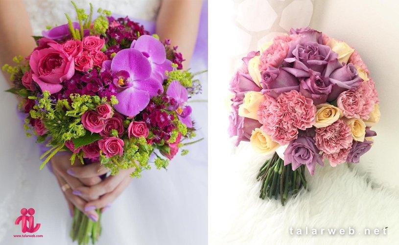 گل ترکیبی - ۱۴ کلید طلایی در انتخاب دسته گل عروس