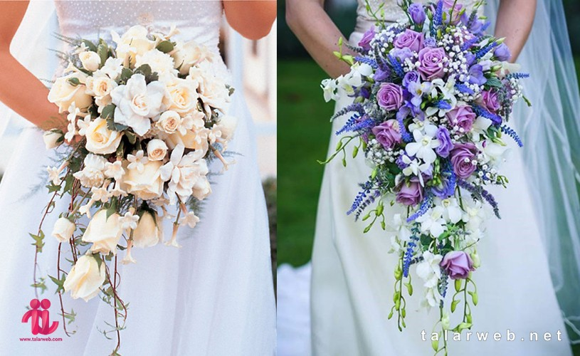 گل عروس آبشاری - ۱۴ کلید طلایی در انتخاب دسته گل عروس