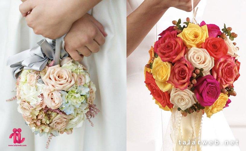 گل عروس توپی - ۱۴ کلید طلایی در انتخاب دسته گل عروس