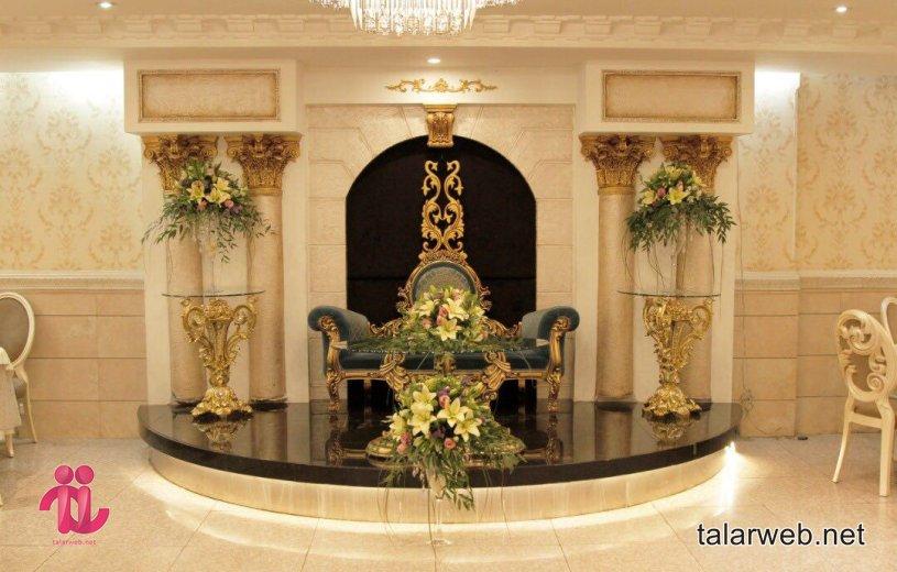 تزئینات داخلی تالار پذیرایی و باغ تالار + نکات کلیدی تزئینات باغ تالار