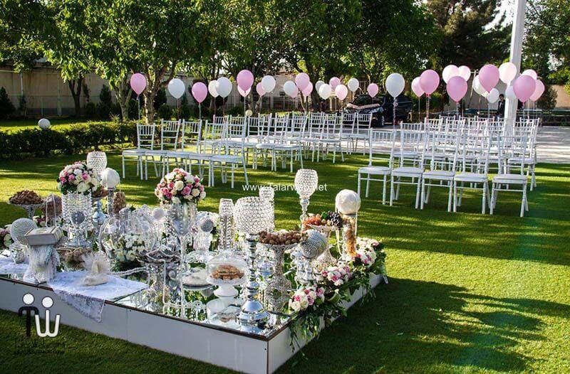 بهترین مکان برای برگزاری مراسم عروسی - راهنمای انتخاب باغ تالار