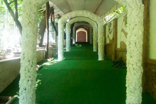 باغ تالار با ایدههای شگفتانگیز