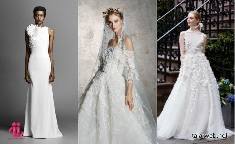 ۳۳ لباس عروس فوق العاده بهار ۲۰۱۹