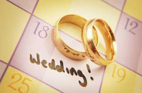 زمان عروسی
