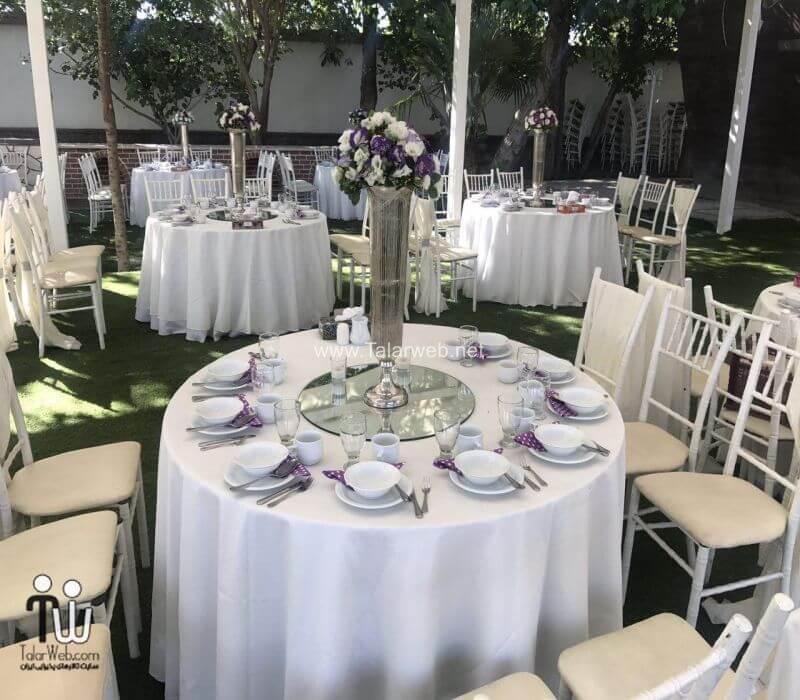 نکات مهم در انتخاب باغ عروسی