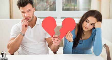 علائم هشدار دهنده پایان یک رابطه