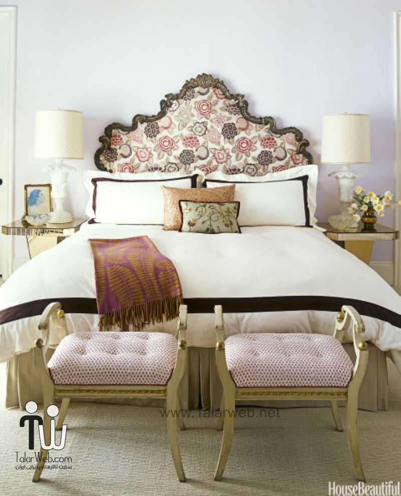 مدل دکوراسیون اتاق خواب برای عروس و داماد