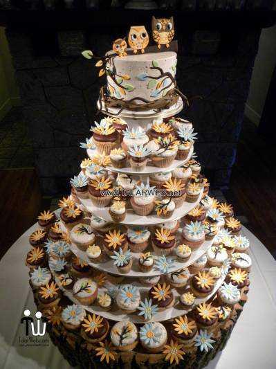 مدل های مختلف کیک عروسی