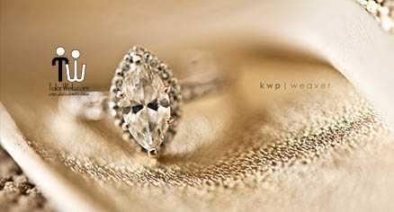 حلقه عروسی و انگشتر نامزدی ۳