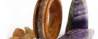 مدل حلقه چوبی دست ساز جدید ۱