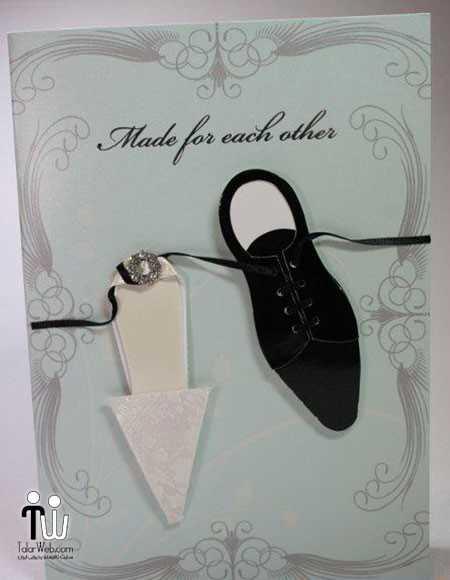طرح کارت عروسی ۱