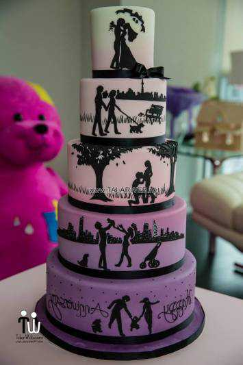 آلبوم جدیدترین عکس های مدل کیک عروسی