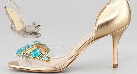مدل های زیبا از کفش عروس