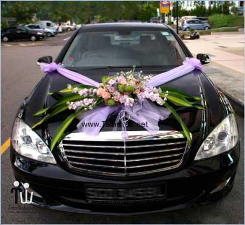 گل آرایی ماشین عروس کرایه ماشین ۹۷