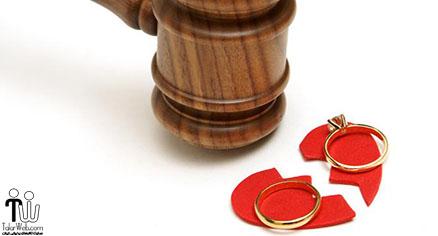 ازدواج ها و طلاق های ثبت شده در سال ۹۵