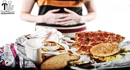 ترک عادتهای بد غذا خوردن