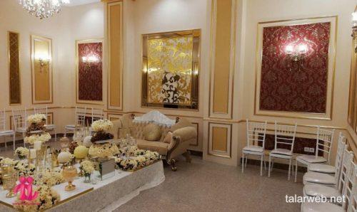 تالار پذیرایی قصر آریو