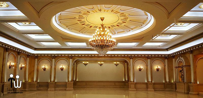معیارهای ساخت تالار پذیرایی