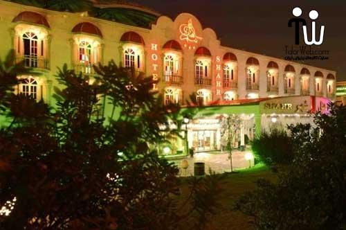 تالار پذیرایی هتل شهر