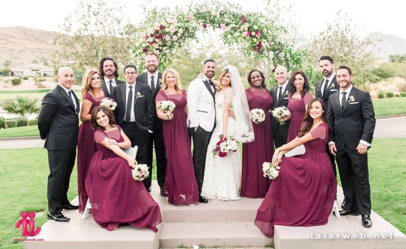 تاریخچه ساقدوش عروس و داماد