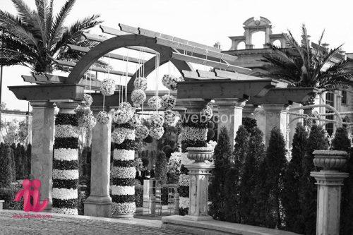 باغ تالار عمارت دانیال زمانی