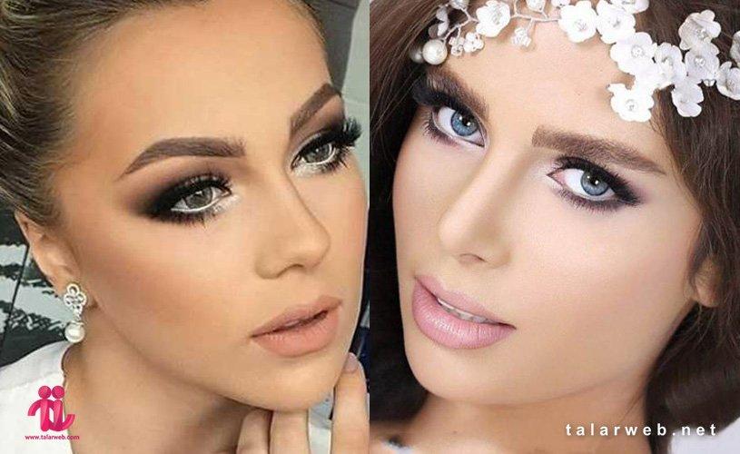 انواع آرایش عروس