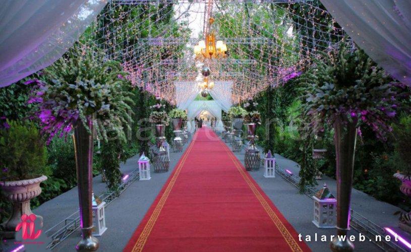 لیست بهترین باغ تالارهای تهران