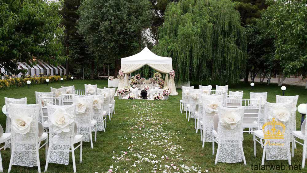 مزیت تالار عروسی بر باغ تالار