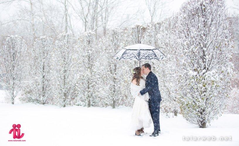 ۱۰ ایده جذاب برای عروسی در زمستان