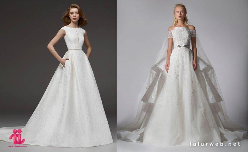 جدیدترین مدل لباس عروس پاییزه