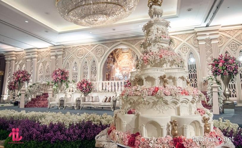 نکات طلایی برای انتخاب کیک عروسی