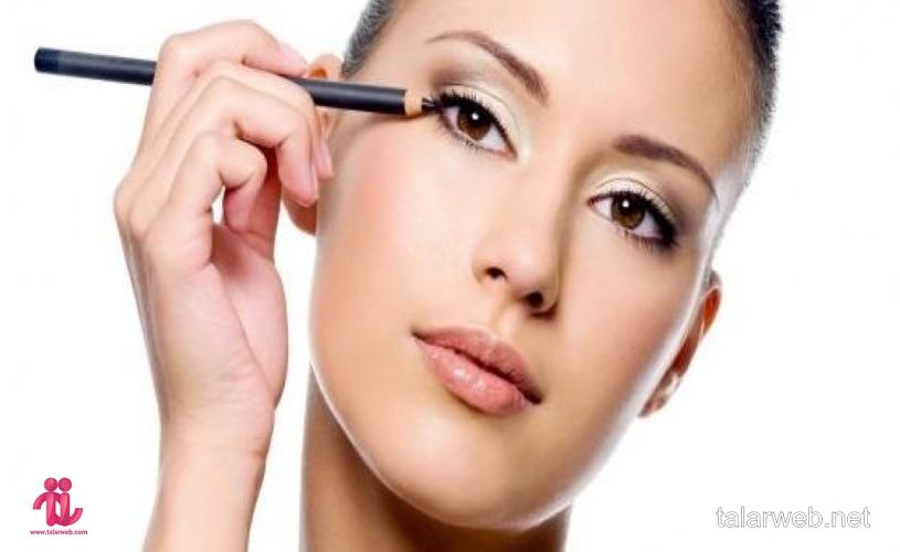 آموزش کشیدن خط چشم ساده برای انواع مدل چشم